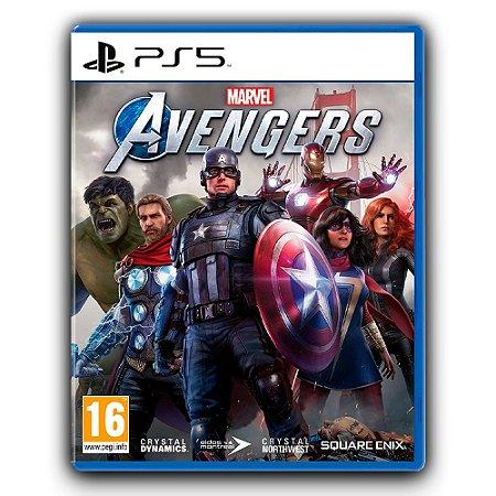 Marvels Avengers Ps5 Mídia Digital