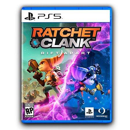 Game Ratchet & Clank Em Uma Outra Dimensão PS5 Mídia Digital