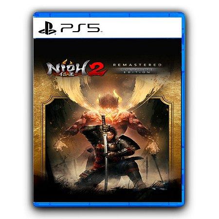 Nioh 2 Remastered A Edição Completa PS5 Mídia Digital