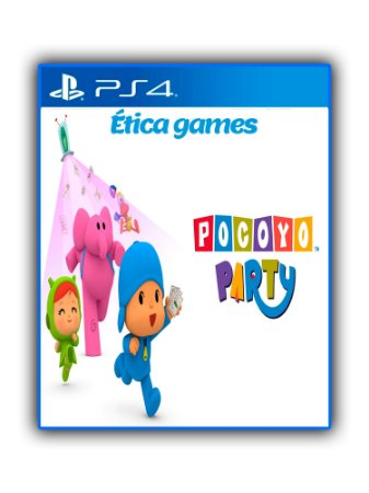 Pocoyo Party Ps4 Mídia Digital