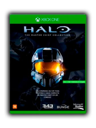 Halo The Master Chief Collection Xbox One Mídia Digital