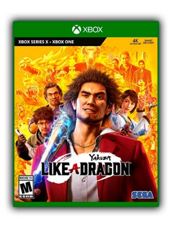 Yakuza Like a Dragon Xbox One Mídia Digital