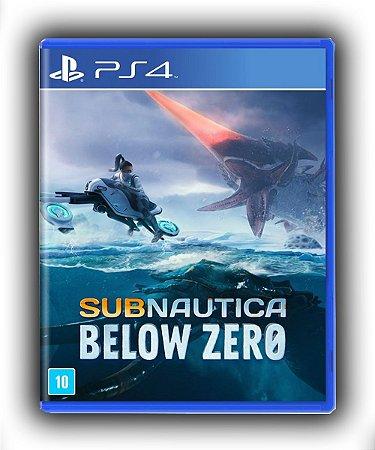 Subnautica: Below Zero Ps4 Mídia Digital