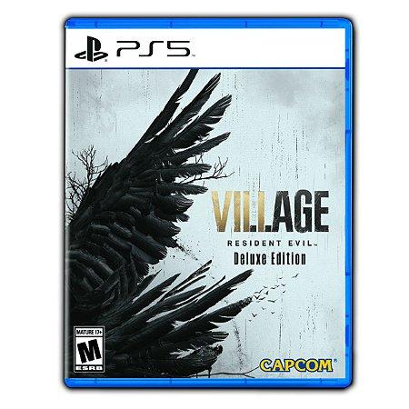 Resident Evil Village Versão Deluxe PS5 Mídia Digital