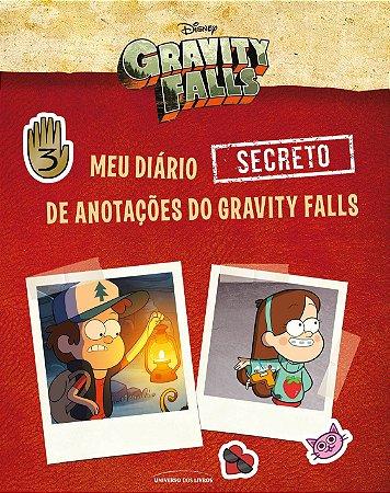 Meu diário (secreto) de anotações do Gravity Falls