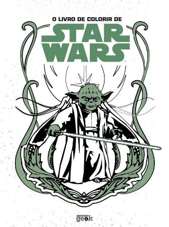 O livro de colorir de Star Wars