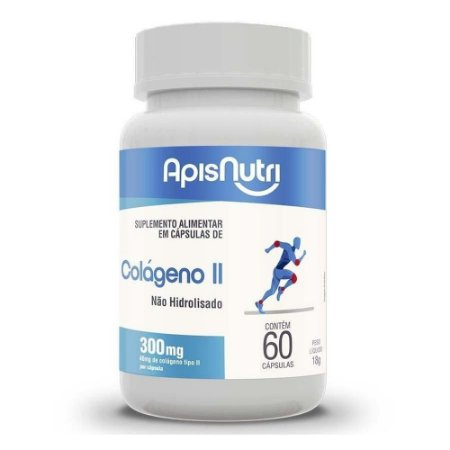 Colágeno Tipo II Apisnutri 60 Cápsulas