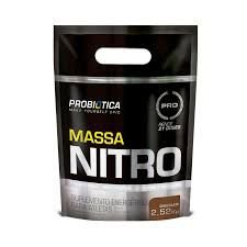 MASSA NITRO 2,520kg  PROBIÓTICA