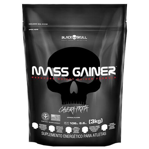 MASS GAINER 3KG BLACKSKULL  ***VÁLIDADE 11/2020***