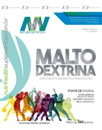 MALTO 1KG NATURES NUTRITION