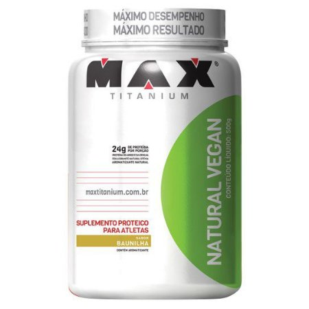 NATURAL VEGAN 500g MAXTITANIUM