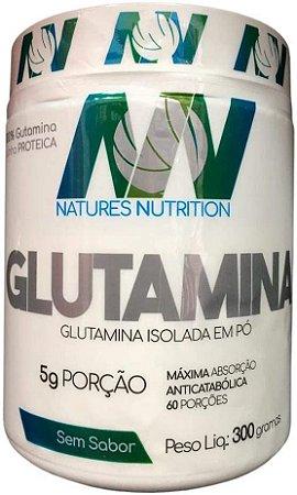 GLUTAMINA 300g NATURES NUTRITON