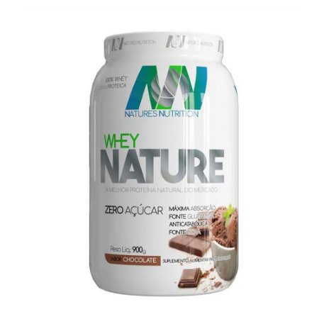 100% WHEY NATURE 900g NATURES NUTRITION