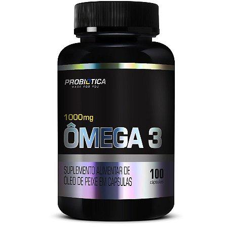 Omega 3 100 Cápsulas Probiótica