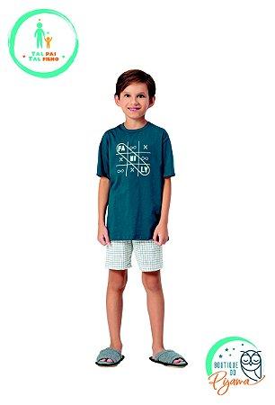 Pijama Curto Infantil Masculino Family