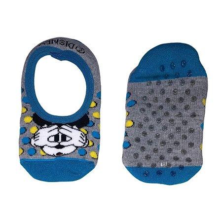 Sapatilha Antiderrapante Mickey Azul