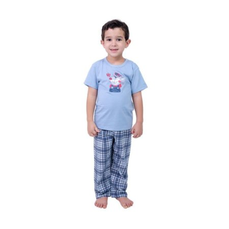 Pijama Longo Infantil Masculino Bear
