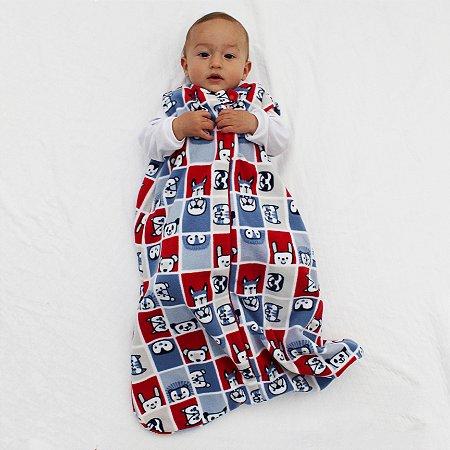 Saco de Dormir Baby Soft Ziper Inverno De 1 até 12 Meses