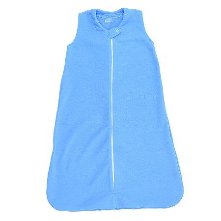 Saco de Dormir Baby Soft Azul Céu Ziper De 1 até 12 Meses