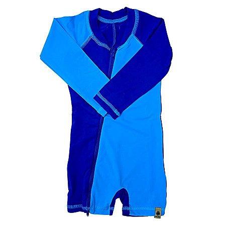Macaquinho Infantil FPS 50 Solar Blue