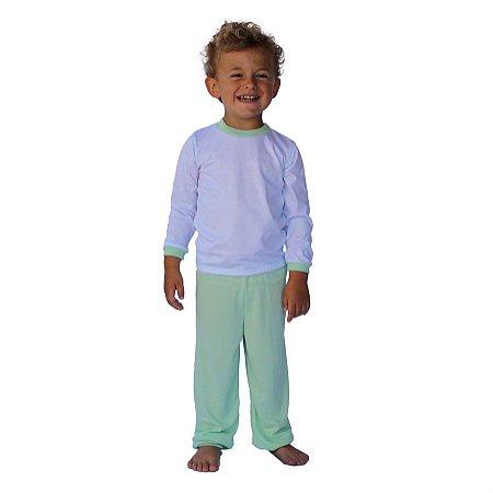 Conjunto Pijama Calça e Camisa Manga Longa