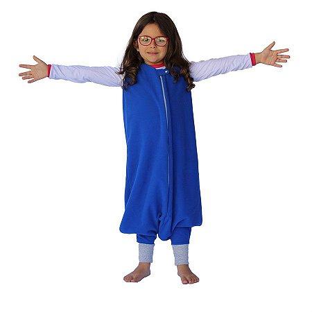 Saco de Dormir Crescidinhos 1 Ziper De 4 até 7 Anos