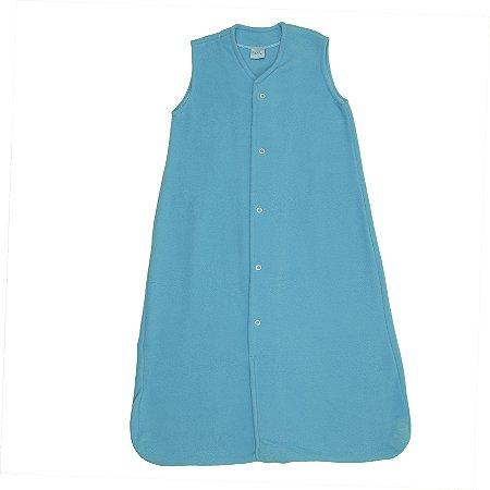 Saco de Dormir Baby Azul Soft Botões De 1 até 12 Meses