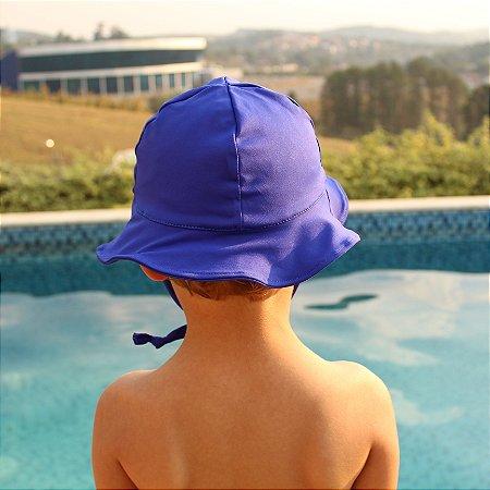 Chapéu Proteção Solar FPS 50 UV+ Azul