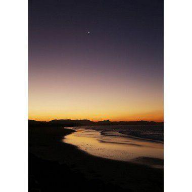 Sunset Main Beach and Van at Arts Factory