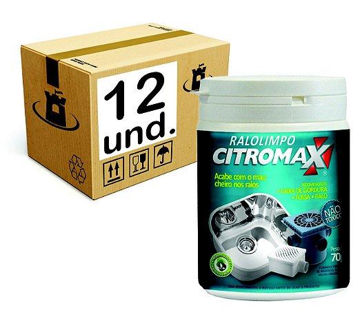 RALO LIMPO BIORREMEDIADOR P/ ESGOTO CITROMAX - CX 12x70g