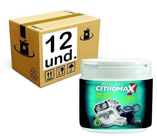 RALO LIMPO BIORREMEDIADOR P/ ESGOTO CITROMAX - CX 12x150g