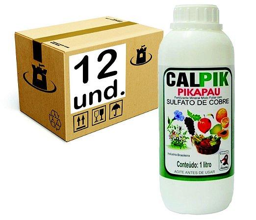 CALPIK SULFATO DE COBRE  Pikapau - CX 12x1L
