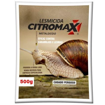 LESMICIDA RESISTENTE UMIDADE CITROMAX Sachê (10x50g) 500g