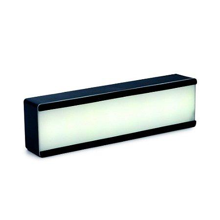 Luminoso Personalizavel 1 Andar Preto 32X5,3X8,8 C/1 Un
