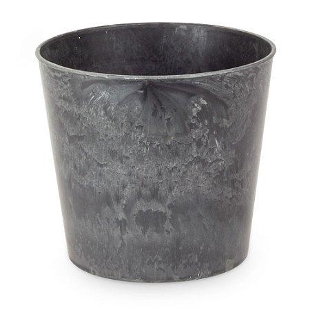 Cachepot Plástico Cinza