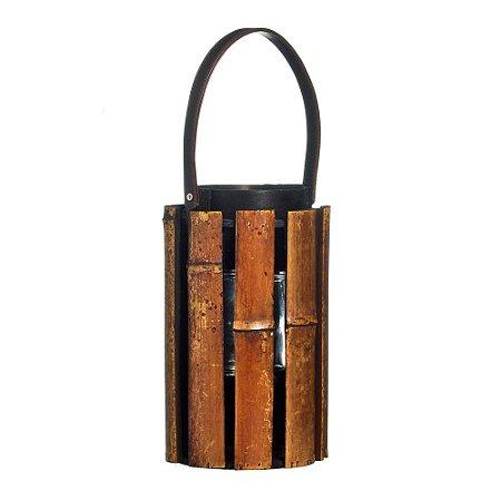 Lanterna Bambu Mar Tam P (Lanternas) C/1 Un