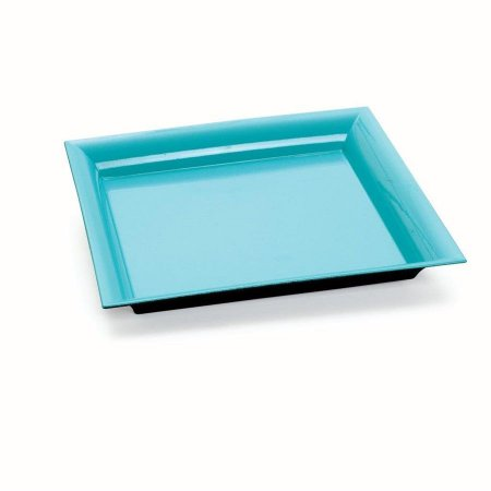 Bandeja Decorativa Quadrada Azul 25x25x2,5 - 2 Unidades