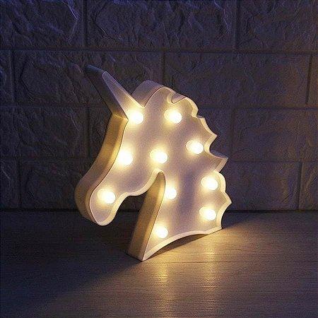Luminária de LED - Unicórnio