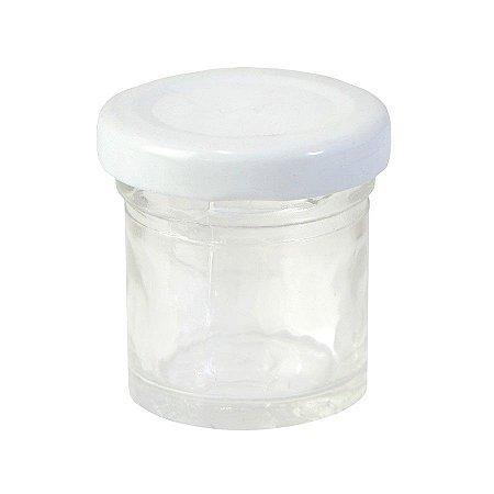 Potinho de Vidro Redondo - 25 ml