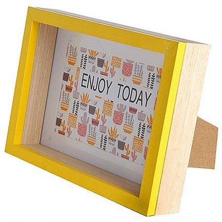 Porta-Retrato - Enjoy Today - 19,5 x 14,5 cm