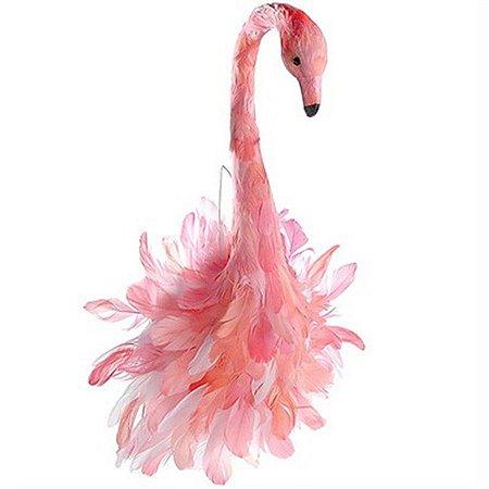 Flamingo para Decoração de Parede - 65 cm