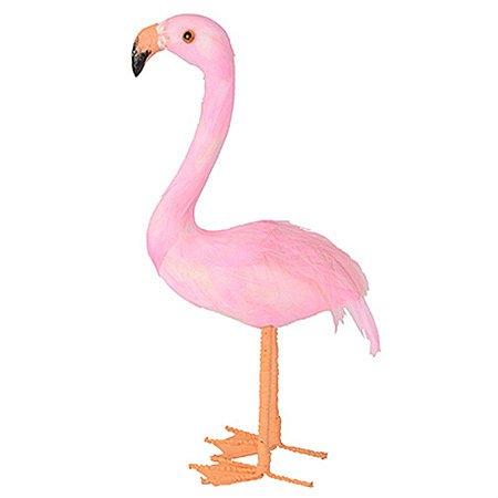 Flamingo Pequeno para Decoração - 22 cm