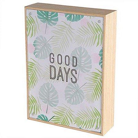 Porta-Retrato - Good Days - 18,5 x 13,5 cm