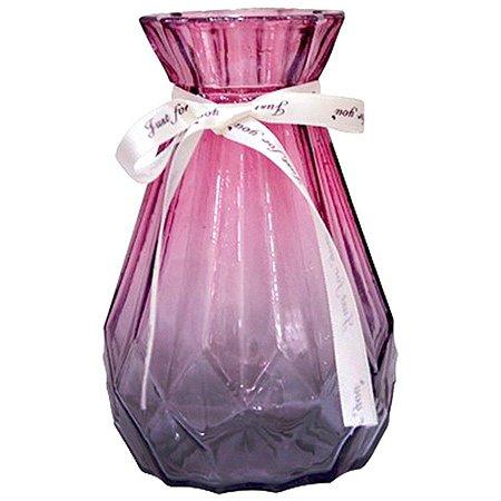 Vaso Decorativo Geométrico Furta Cor - Roxo