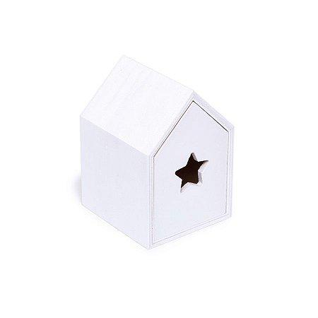 Mini Gaveta Estrela Branco 7,5X7,8X10,8  - 2 Unidades