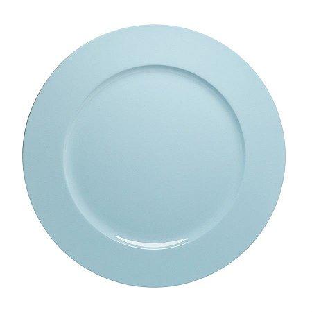 Sousplast Double Face Azul 33 Cm - 6 Unidades