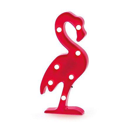 Luminoso Flamingo com Led Pink - 2 Unidades