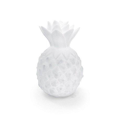 Mini Luminaria Abacaxi Branco - 2 Unidades
