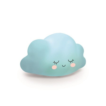 Mini Luminaria Nuvem Azul - 2 Unidades