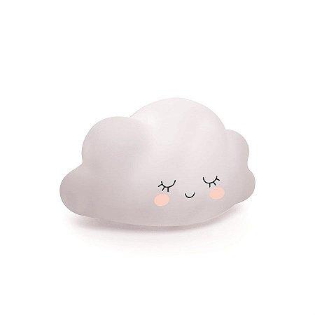 Mini Luminaria Nuvem Branco - 2 Unidades